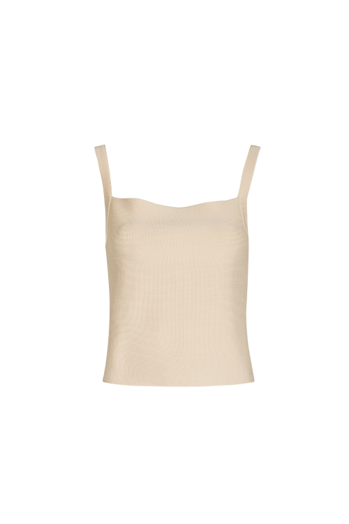 TOP TRICOT SALERMO BEGE