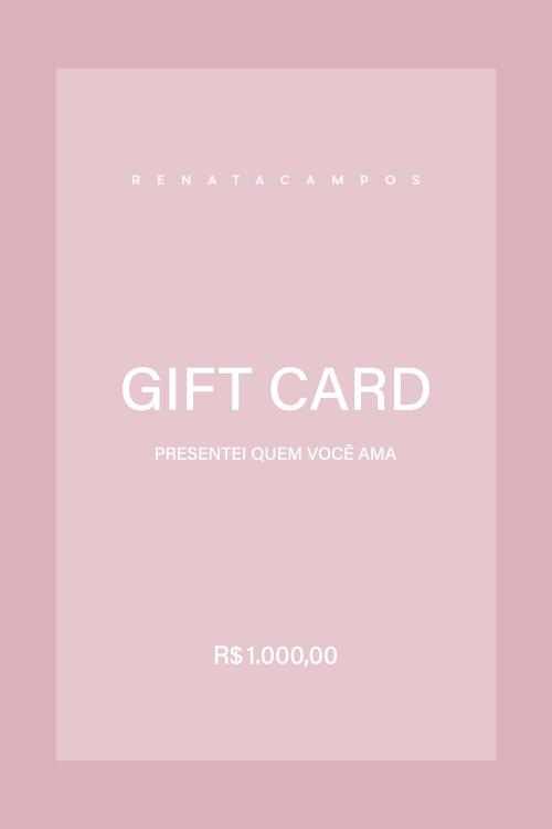 GIFT CARD R$ 1.000,00